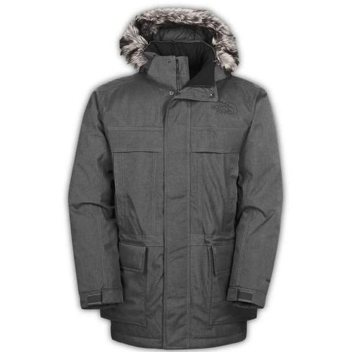 THE NORTH FACE Men's McMurdo Parka, Medium Grey-OZNICO
