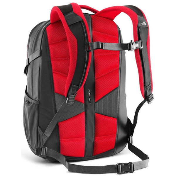 THE NORTH FACE Recon Backpack, Red/ Grey-OZNICO