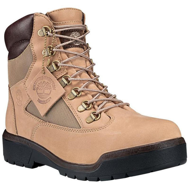 "TIMBERLAND 6"" Field Boots, Beige-OZNICO"