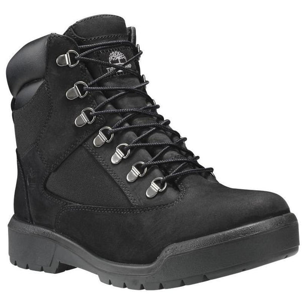 "TIMBERLAND 6"" Men's Field Boots, Black-OZNICO"