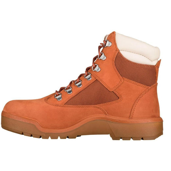 "TIMBERLAND 6"" Men's Field Boots, Burnt Orange-OZNICO"
