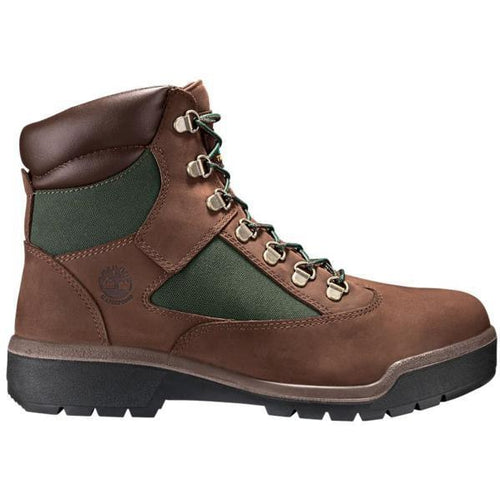 "TIMBERLAND 6"" Men's Field Boots, Dark Brown-OZNICO"