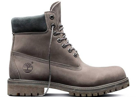 "TIMBERLAND 6"" Men's Field Boot, Dark Grey/ Forged Iron"