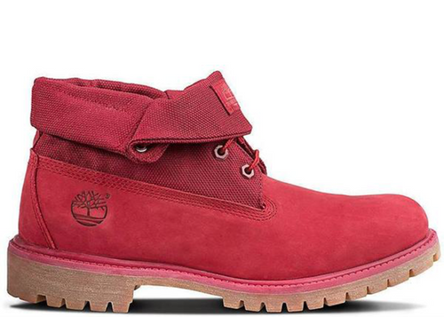 "TIMBERLAND 6"" Roll Top Premium Men's Boots, Red-OZNICO"