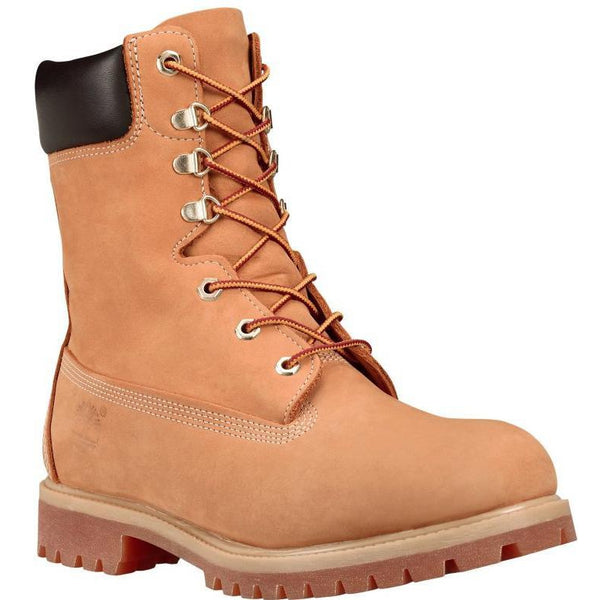 "TIMBERLAND 8"" Premium Men's Boot, Wheat-OZNICO"
