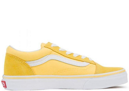 VANS Kids Old Skool Aspen Gold/ True White-OZNICO