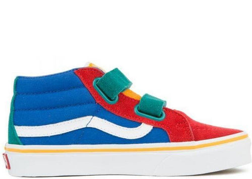VANS (PS) SK8-Mid Reissue V, Primary Block-OZNICO