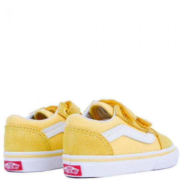 VANS (TD) Old Skool V, Aspen Gold/ True White-OZNICO
