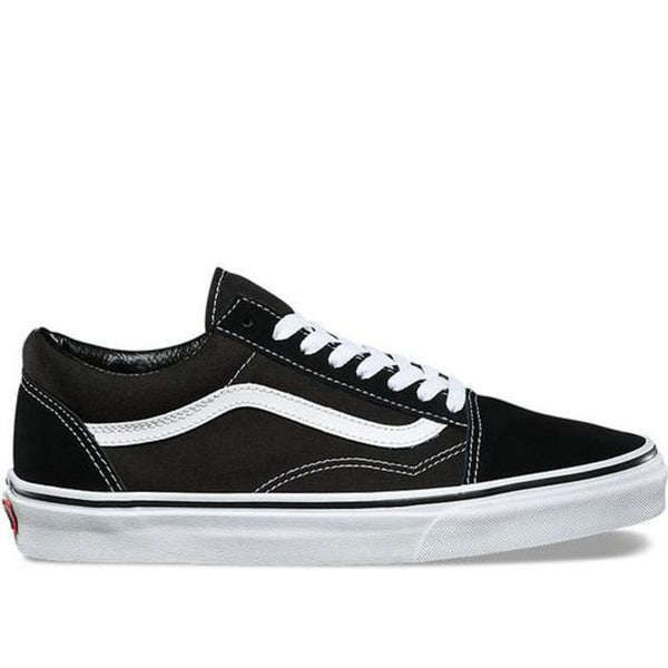 VANS UA Old Skool, Black/ White-OZNICO