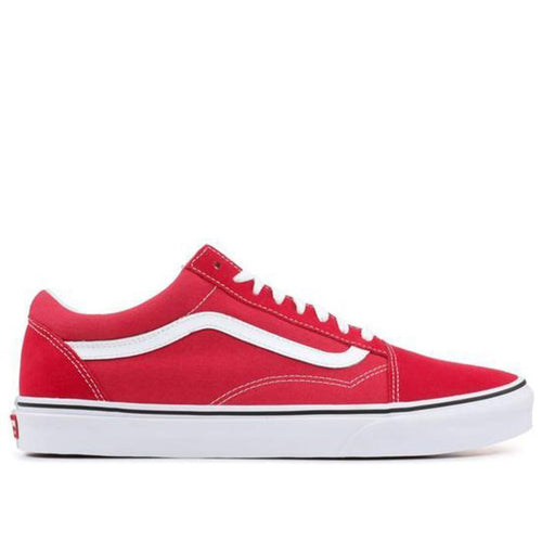VANS UA Old Skool, Crimson/True White-OZNICO