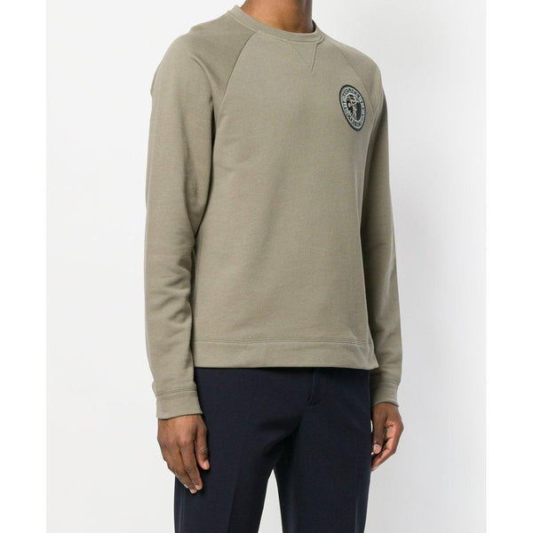 VERSACE COLLECTION Chest Logo Activewear Sweatshirt, Bronze-OZNICO