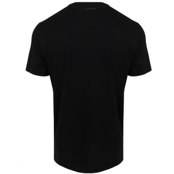 VERSACE COLLECTION Cross Studded T-Shirt, Black-OZNICO