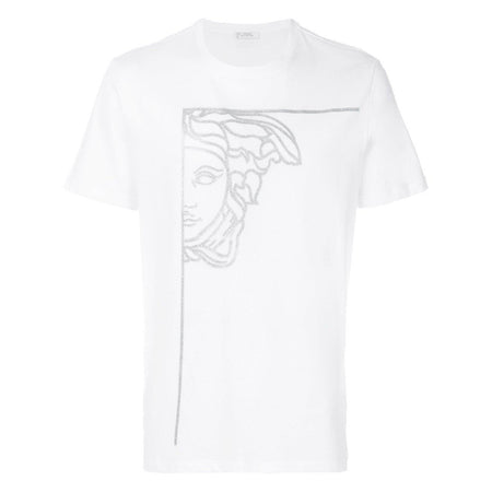 VERSACE COLLECTION Baroque Print T-Shirt, Black