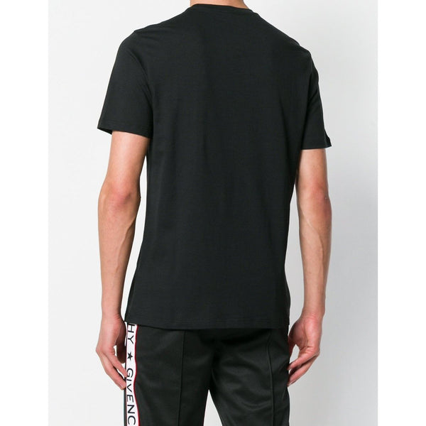 VERSACE COLLECTION Logo Patch T-Shirt, Black-OZNICO