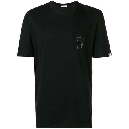 VERSACE COLLECTION Cross Studded T-Shirt, Black