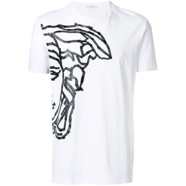 VERSACE COLLECTION Medusa Print T-Shirt, White-OZNICO ... b4c8319d83b