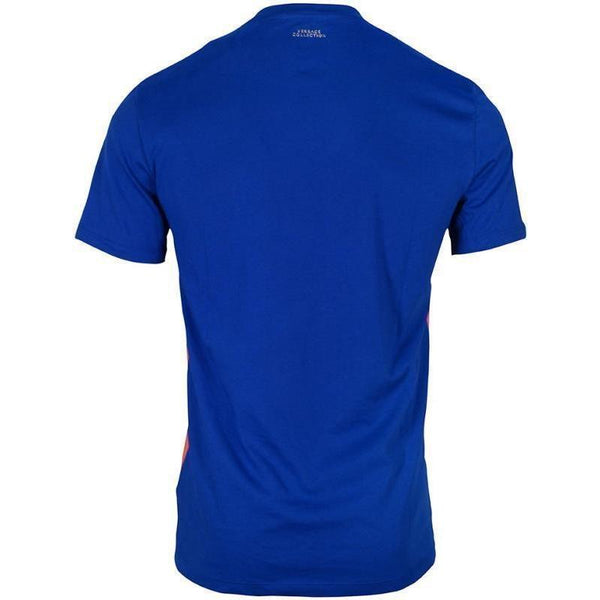 VERSACE COLLECTION Printed T-Shirt, Royal Blue-OZNICO