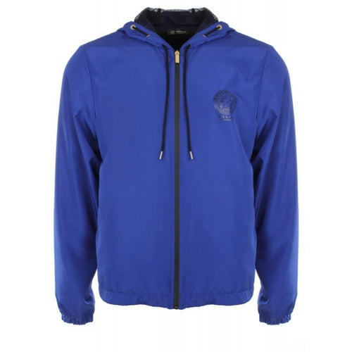 Versace Medusa Windbreaker, Royal Blue-OZNICO