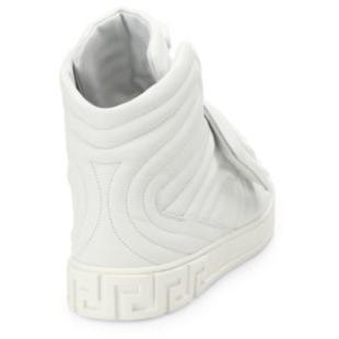 VERSACE Quilted High-top Sneakers