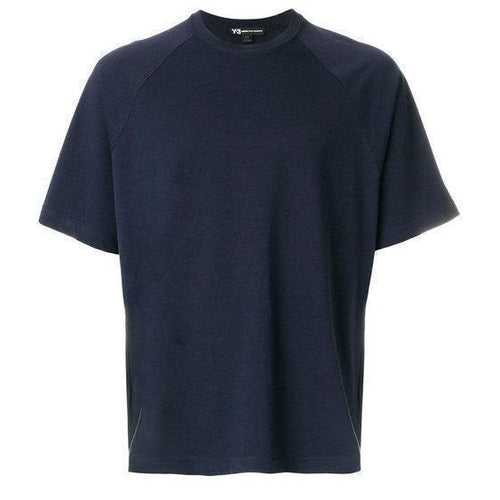 Y-3 Classic S/S T-Shirt, Navy-OZNICO