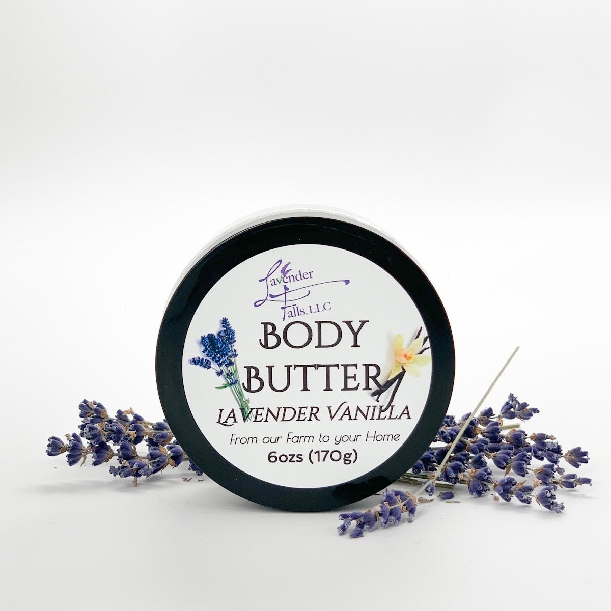All Natural Body Butter Lavender Vanilla