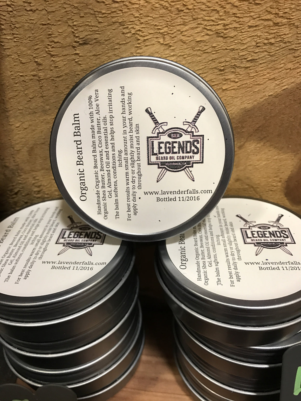 Legends Beard Balm 125 Frankincense, Ylang Ylang, Patchouli, Clary Sage, Sweet Orange, Thyme