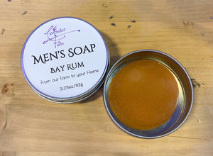 Men's Bar Soap, Aloe Vera Bay Rum, 3oz