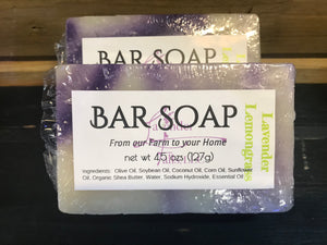 Bar Soap Lavender Lemongrass