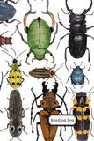 Children's Reading Log: Beetles