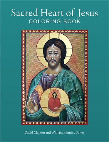 Sacred Heart of Jesus Coloring Book