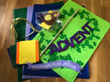 Advent Wreath Banner Kit