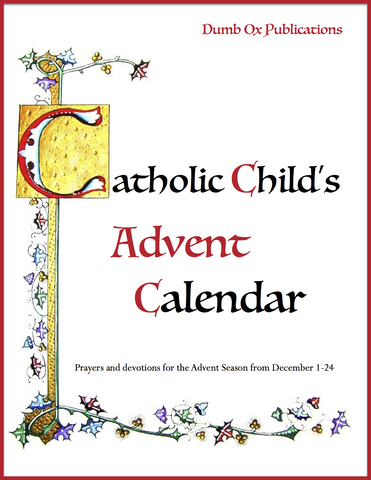 Catholic Child's Advent Calendar