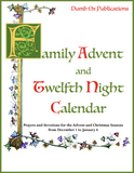 Family Advent and Twelfth Night Calendar SET