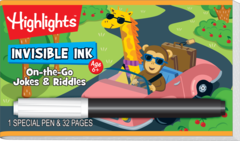Invisible Ink: Highlights™ On-the-Go Puzzles