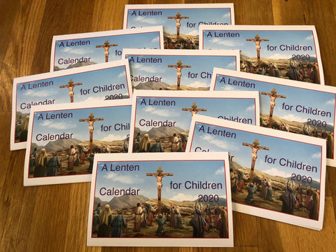 A Lenten Calendar for Children 2020 LOT/10