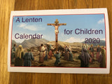 A Lenten Calendar for Children 2020