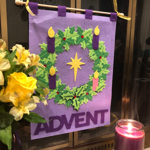 Advent Banner Kit