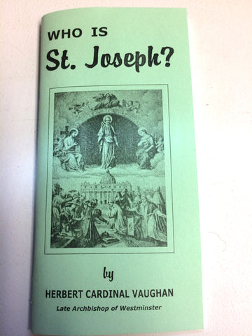 Who is St. Joseph?