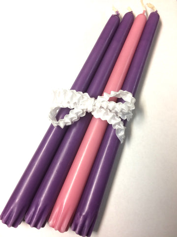 Advent Wreath Candles Set/4
