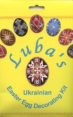 Luba's Ukrainian Easter Egg Decorating Kit