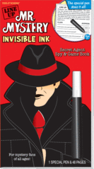 Mr. Mystery (Line Up) Invisible Ink (Red Book)