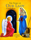 Story of Our Lady Coloring Book