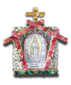 Marian Grotto Kit: Our Lady of Lourdes