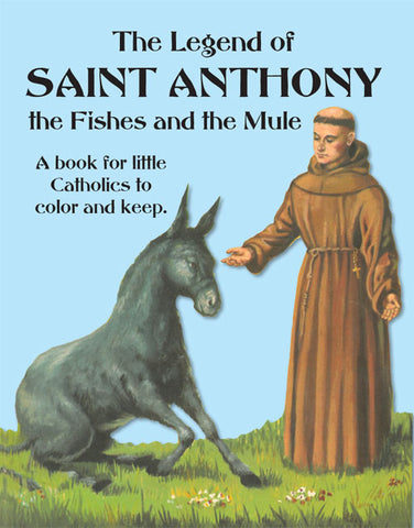 Legend of St. Anthony Coloring Book