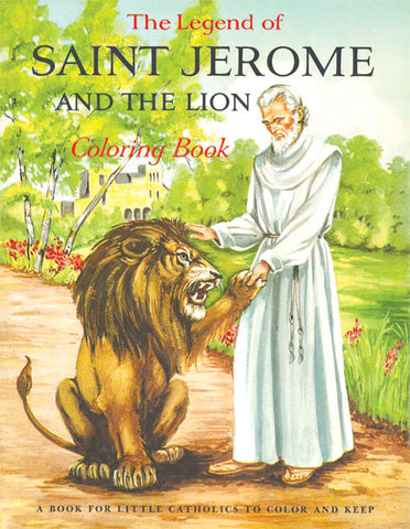 Legend of St. Jerome Coloring Book