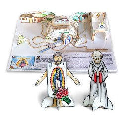Our Lady of Guadalupe Cut 'n Color Activity Book