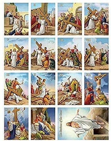 A Stations of the Cross Magnet Set