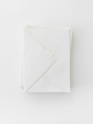 Handmade Paper in Off-White