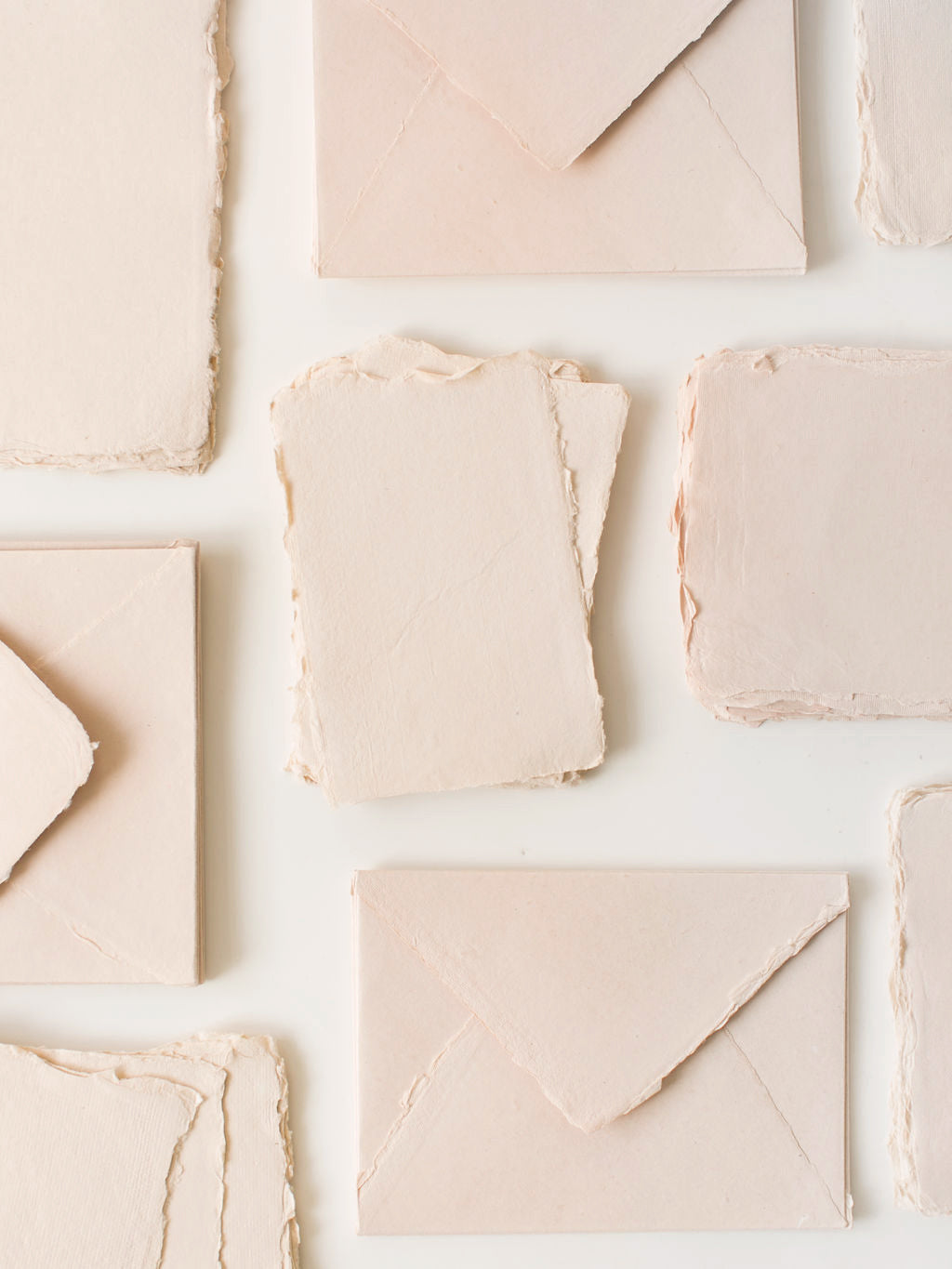 Handmade Paper in Blush