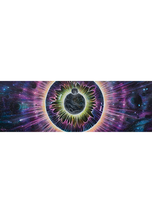 """EYECLIPSE""  Canvas Prints Only"